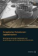 Cover-Bild zu Celik, Hüseyin: Europäisches Mehrebenen-Legislativsystem