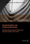Cover-Bild zu Hager, Patricia Martina: Rundfunkvielfalt und Medienkonzentration