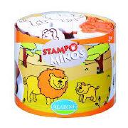 Cover-Bild zu Stampo Minos - Safari-Tiere