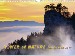 Cover-Bild zu Power of Nature Switzerland 2014