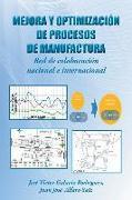 Cover-Bild zu Mejora y optimización de procesos de manufactura