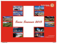 Cover-Bild zu Swiss Souvenir 2013