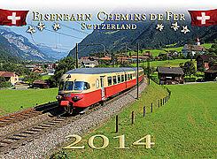 Cover-Bild zu Eisenbahn Switzerland 2014