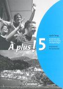 Cover-Bild zu À plus! 5. Handreichungen für den Unterricht