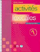 Cover-Bild zu Volume 1: Activités lexicales