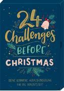 Cover-Bild zu Paehl, Nora (Illustr.): Karten-Box - 24 Challenges before Christmas