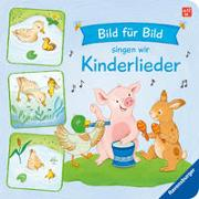 Cover-Bild zu Paehl, Nora (Illustr.): Bild für Bild singen wir Kinderlieder