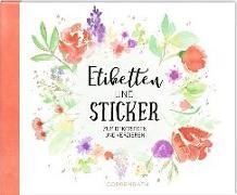 Cover-Bild zu Paehl, Nora (Illustr.): Stickerbuch - Etiketten und Sticker