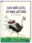 Cover-Bild zu Paehl, Nora (Illustr.): Lasst mich durch, ich muss aufs Sofa!
