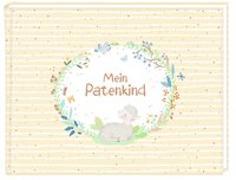 Cover-Bild zu Paehl, Nora (Illustr.): Erinnerungsalbum - Mein Patenkind
