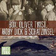 Cover-Bild zu eBook Dreifaches Abenteuer: Oliver Twist, Schatzinsel, Moby Dick