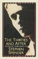 Cover-Bild zu Spender, Stephen: The Thirties and After