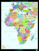 Cover-Bild zu Afrika. physisch/politisch. 1:7'000'000