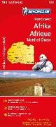 Cover-Bild zu Nordwest-Afrika / Afrique Nord et Ouest. 1:4'000'000