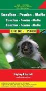 Cover-Bild zu Sansibar - Pemba - Mafia. 1:100'000 / 1:150'000