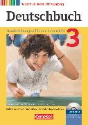 Cover-Bild zu Bublinski, Carolin: Deutschbuch, Sprach- und Lesebuch, Realschule Baden-Württemberg 2012, Band 3: 7. Schuljahr, Handreichungen für den Unterricht, Kopiervorlagen und CD-ROM, Mit editierbaren Word-Kopiervorlagen