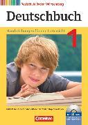 Cover-Bild zu Birner, Sylvia: Deutschbuch, Sprach- und Lesebuch, Realschule Baden-Württemberg 2012, Band 1: 5. Schuljahr, Handreichungen für den Unterricht, Kopiervorlagen und CD-ROM, Mit editierbaren Word-Kopiervorlagen