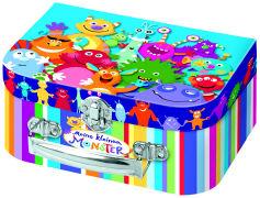 Cover-Bild zu Meine kleinen Monster. Memo im Koffer