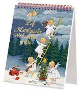 Cover-Bild zu 24 nostalgische Weihnachtsgrüße