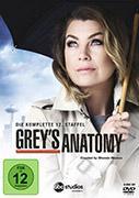 Cover-Bild zu Grey's Anatomy - 12. Staffel