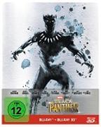 Cover-Bild zu Black Panther - 3D+2D - Steelbook - limititerte Auflage