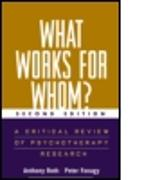 Cover-Bild zu Fonagy, Peter: What Works for Whom?