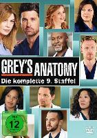 Cover-Bild zu Grey's Anatomy - 9. Staffel