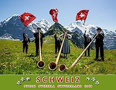 Cover-Bild zu Cal. Schweiz-Suisse-Svizzera-Switzerland Ft. 40x31 2018