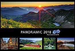 Cover-Bild zu Cal. Panoramic Switzerland Ft. 48x33 2018
