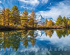 Cover-Bild zu Cal. Swiss Panorama Ft. 40x31 2019
