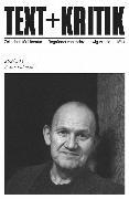 Cover-Bild zu eBook TEXT+KRITIK 202/203 - Franz Fühmann