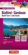 Cover-Bild zu Südtirol-Gardasee-Venedig Flash Guide Strassenkarte 1:175 000. 1:175'000