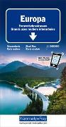 Cover-Bild zu Europa Fernverkehrsstrassen. 1:3'600'000