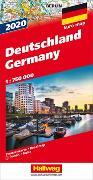 Cover-Bild zu Deutschland 2020 Strassenkarte. 1:750'000