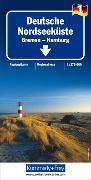 Cover-Bild zu Deutsche Nordseeküste - Bremen, Hamburg Nr. 1. 1:275'000
