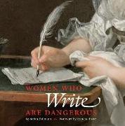 Cover-Bild zu Bollmann, Stefan: Women Who Write Are Dangerous