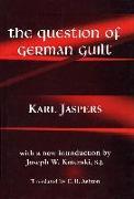 Cover-Bild zu Jaspers, Karl: The Question of German Guilt