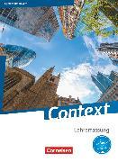 Cover-Bild zu Bartscherer, Irene: Context, Bayern, Schülerbuch - Lehrerfassung, Kartoniert