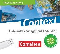 Cover-Bild zu Bartscherer, Irene: Context, Baden-Württemberg - Ausgabe 2019, Unterrichtsmanager Plus auf USB-Stick, Inkl. E-Book als Zugabe und Begleitmaterialien