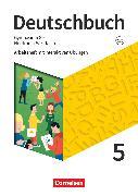 Cover-Bild zu Eichenberg, Christine: Deutschbuch Gymnasium, Nordrhein-Westfalen - Neue Ausgabe, 5. Schuljahr, Arbeitsheft mit interaktiven Übungen auf scook.de, Mit Lösungen