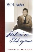 Cover-Bild zu Auden, W. H.: Lectures on Shakespeare