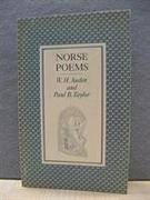 Cover-Bild zu Auden, W. H.: Norse Poems