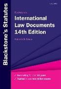 Cover-Bild zu Blackstone's International Law Documents von Evans, Malcolm (Hrsg.)