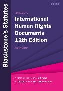 Cover-Bild zu Blackstone's International Human Rights Documents von Bisset, Alison (Hrsg.)