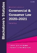 Cover-Bild zu Blackstone's Statutes on Commercial & Consumer Law 2020-2021 von Rose, Francis (Hrsg.)
