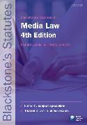Cover-Bild zu Blackstone's Statutes on Media Law