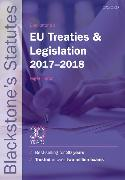 Cover-Bild zu Blackstone's EU Treaties & Legislation 2017-2018 von Foster, Nigel (Hrsg.)