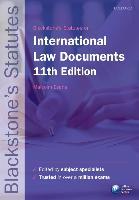 Cover-Bild zu Blackstone's International Law Documents von Evans, Malcolm