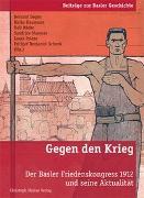 Cover-Bild zu Degen, Bernard (Hrsg.): Gegen den Krieg