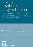 Cover-Bild zu Volkmann, Ute: Legitime Ungleichheiten